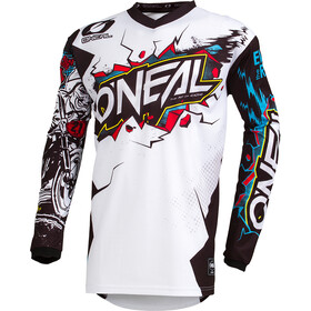 ONeal Element Maillot manga larga Hombre, VILLAIN white